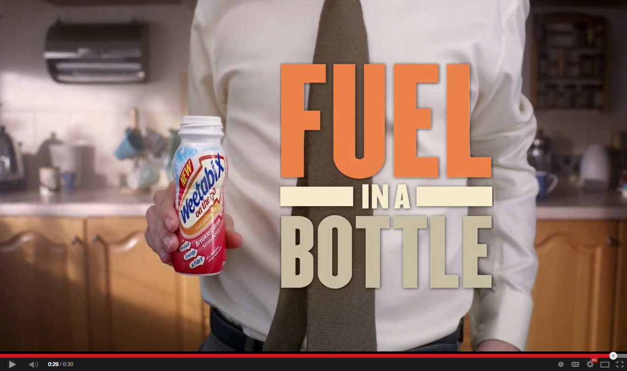 Weetabix Fuel in a Bottle