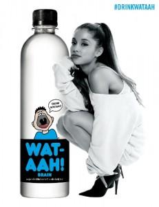 WAT AAH partnership with Ariana Grande