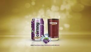 Cornny Blackcurrant Kvass Drink