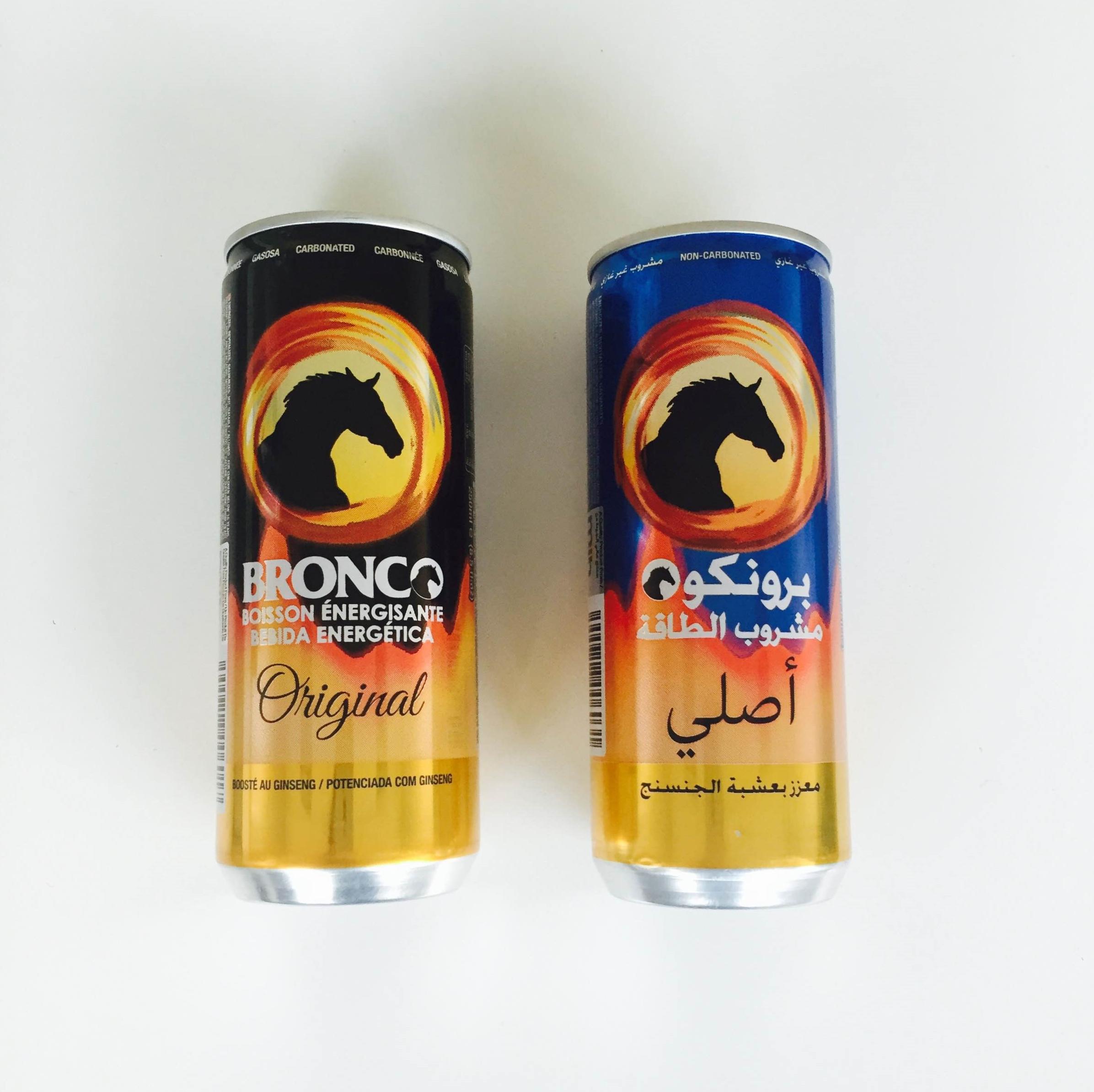 Bronco Energy Drink