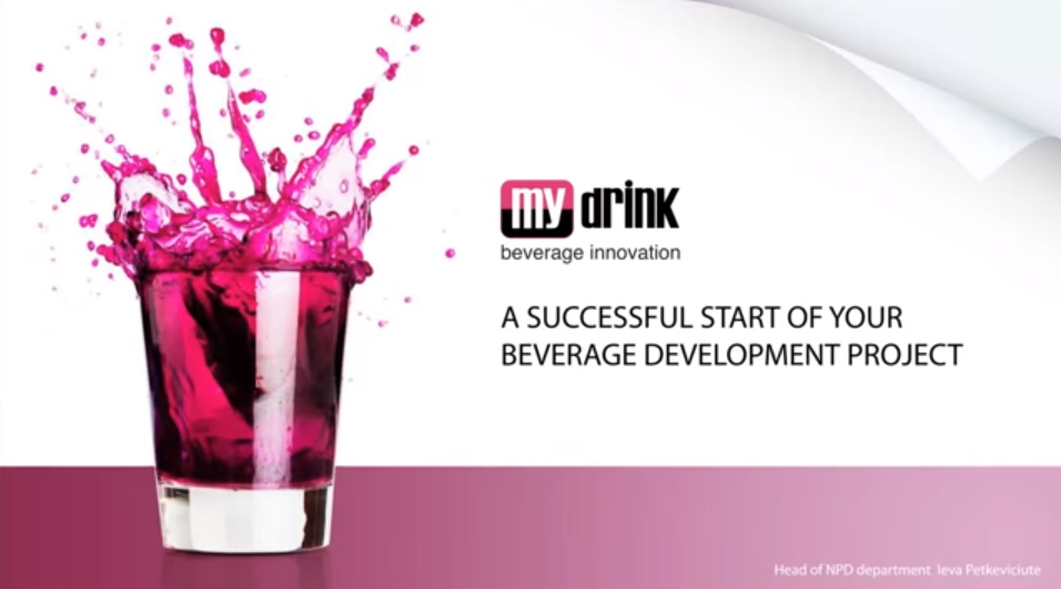 Important Hints for Successful Beverage Development Project