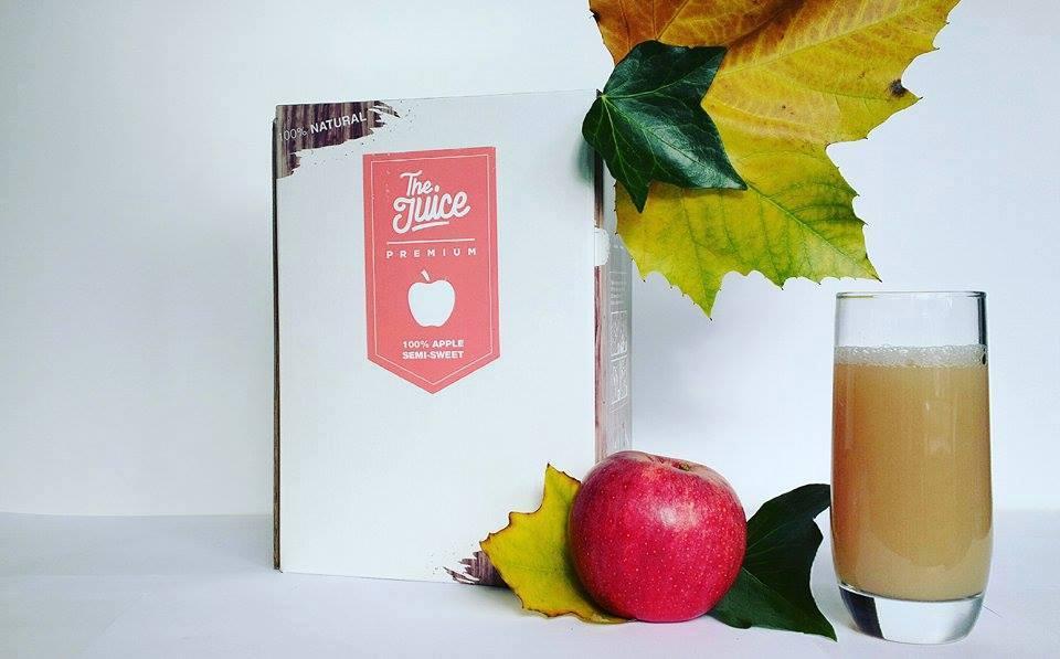The Juice Premium Semi Sweet Apple 3L