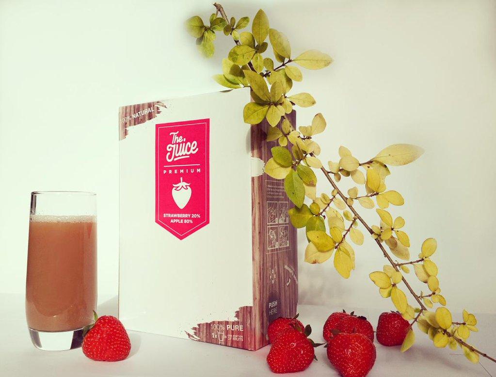 The Juice Premium Strawberry & Apple 3L