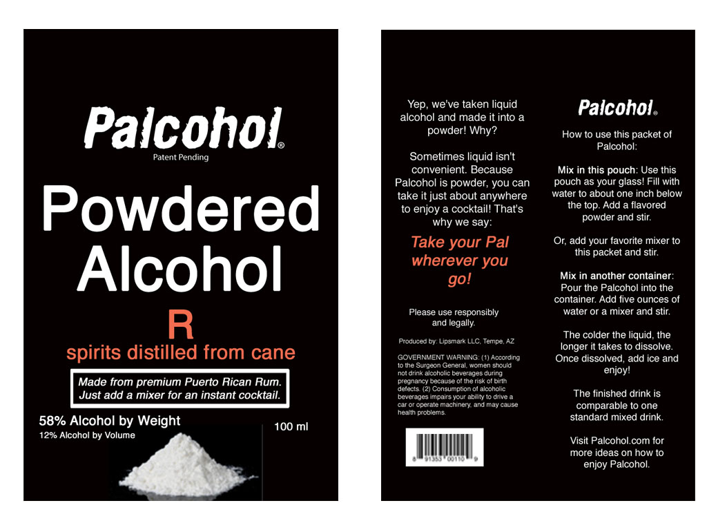 Powdered Alcohol Is Safer Than Liquid Alcohol, Says Palcohol