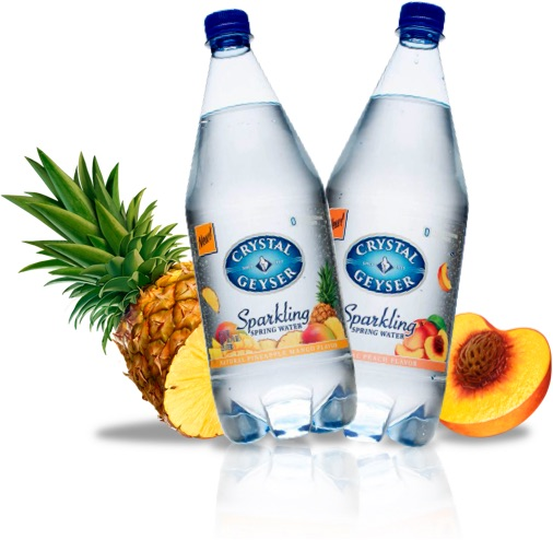 Crystal Geyser Introduces New Sparkling Water Flavors