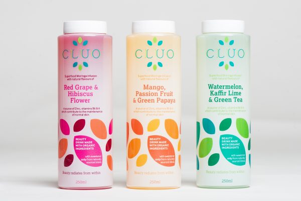CLUO Beauty Drink Infused with Moringa