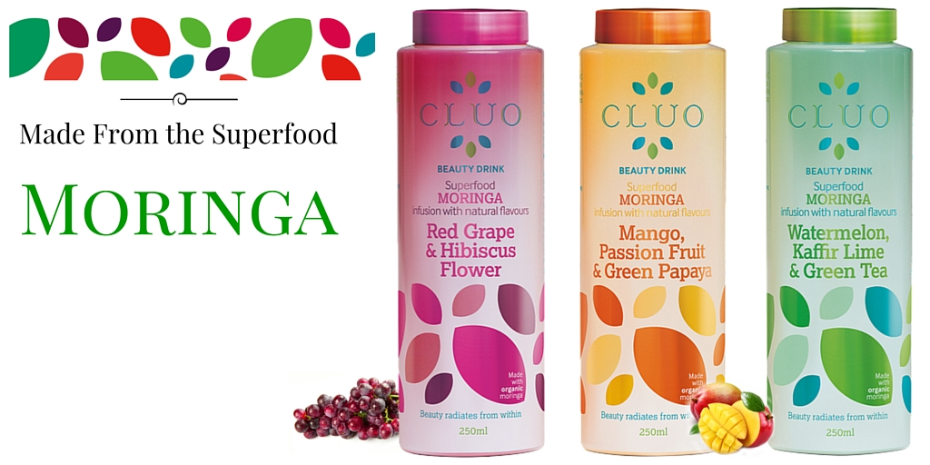 CLUO Beauty Drinks Infused with Moringa
