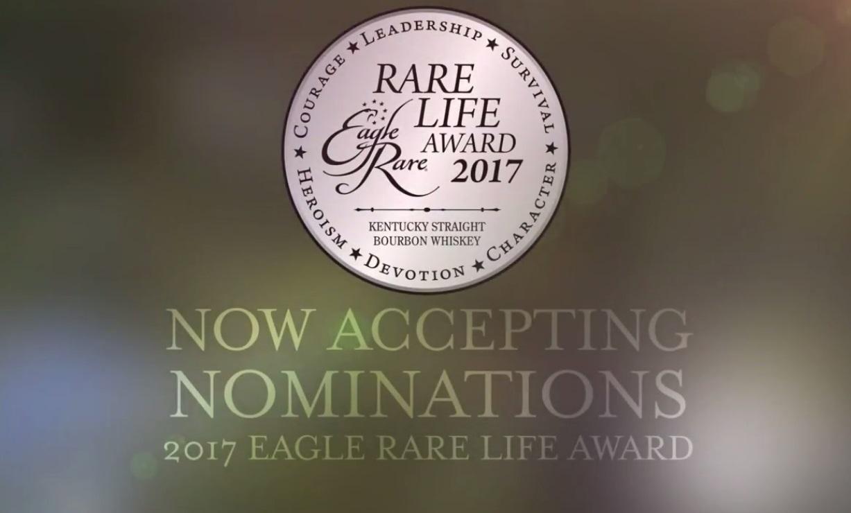 Eagle Rare Bourbon Launches 2017 Rare Life Award