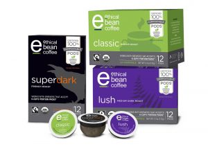 Ethical Bean Coffee Launches 100% Compostable Single-Serve Pods