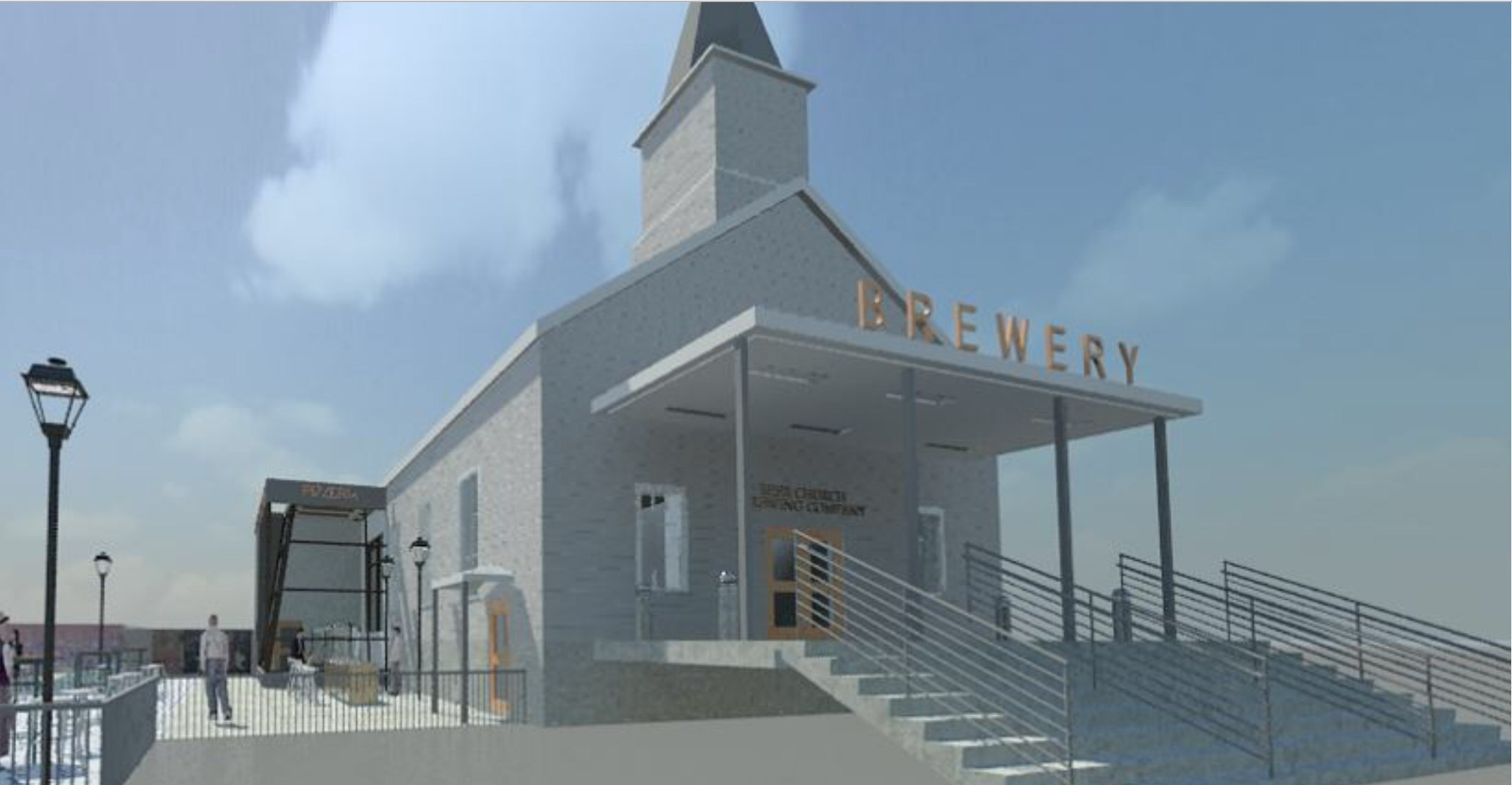 """World's First Beer Church """"Brewhouse Louvre"""""""