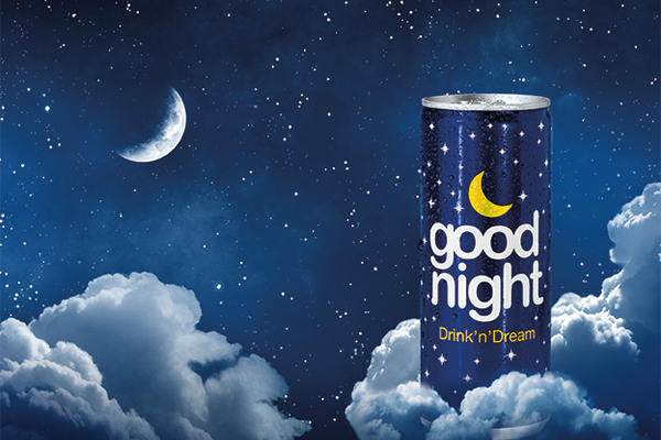 Drink'n'Dream with Good Night Relaxation Drink