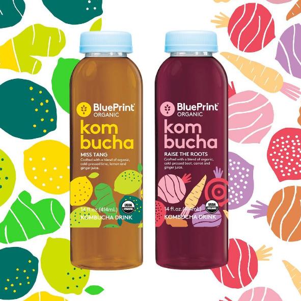 Blueprint organic launches new kombucha drinks bridge2food blueprint organic launches new kombucha drinks malvernweather Choice Image