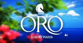 ORO - Luxury Water Awarded With Golden Medal
