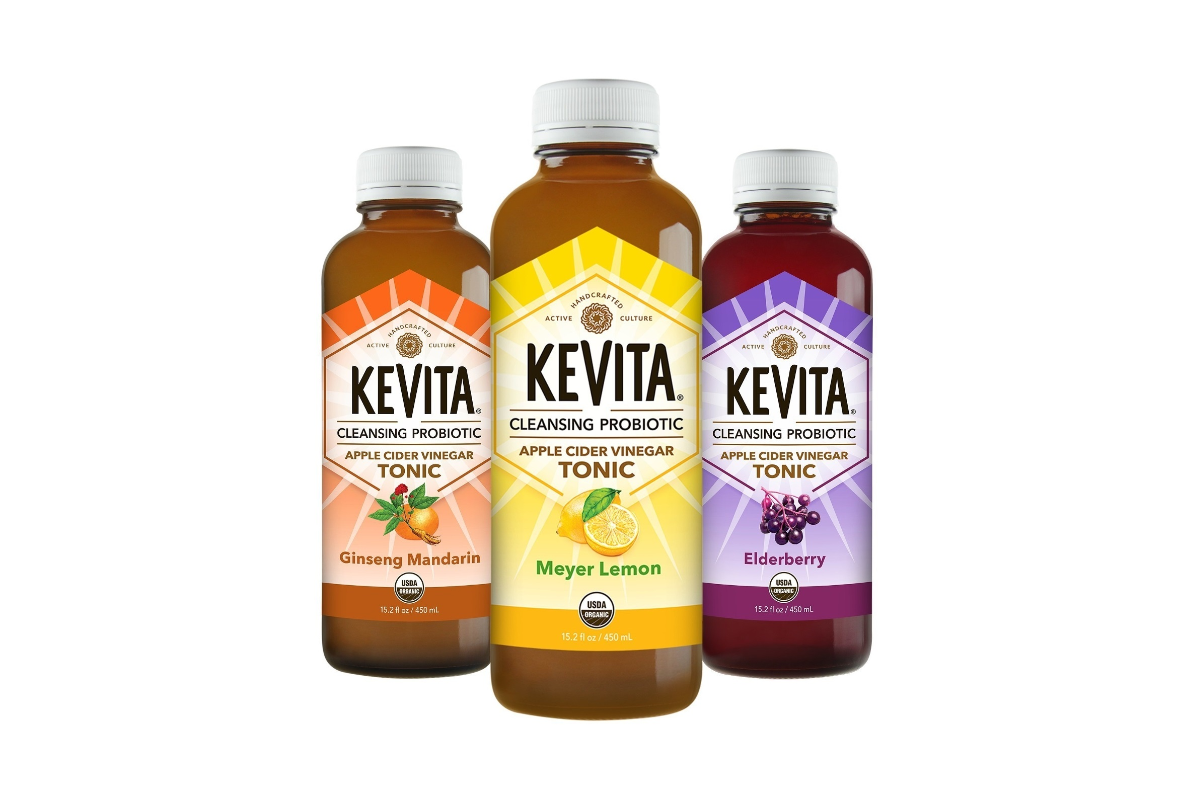 KeVita Releases Three New Cleansing Probiotic Tonic Flavors