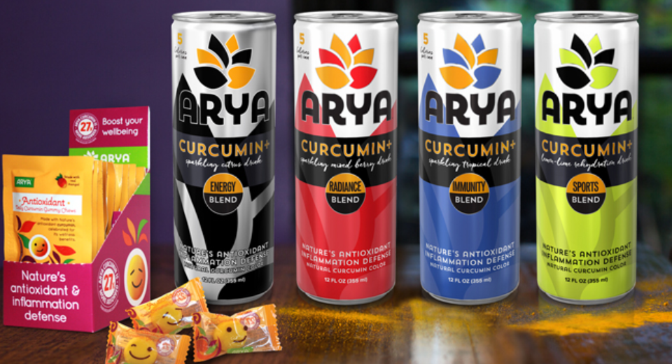 ARYA Introduces New Range of Curcumin-Centric Products