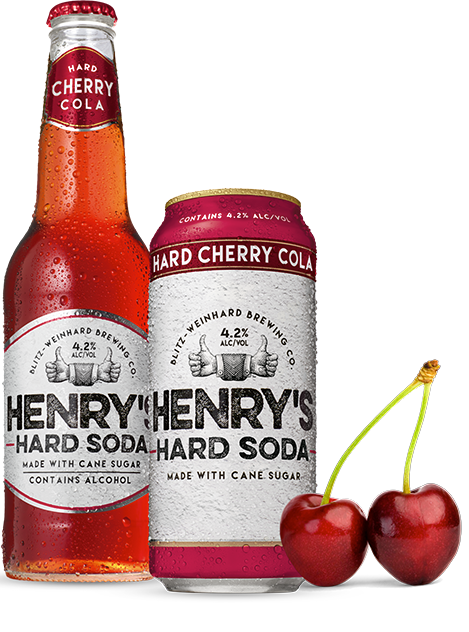 Henry's Hard Soda Launches New Hard Cherry Cola Flavor
