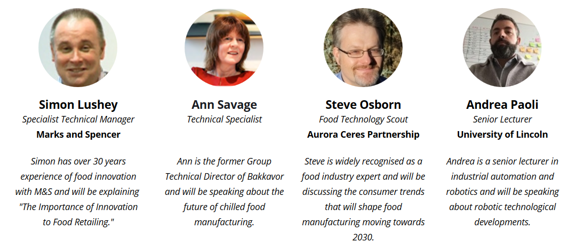 Food Manufacturing 2030 Conference