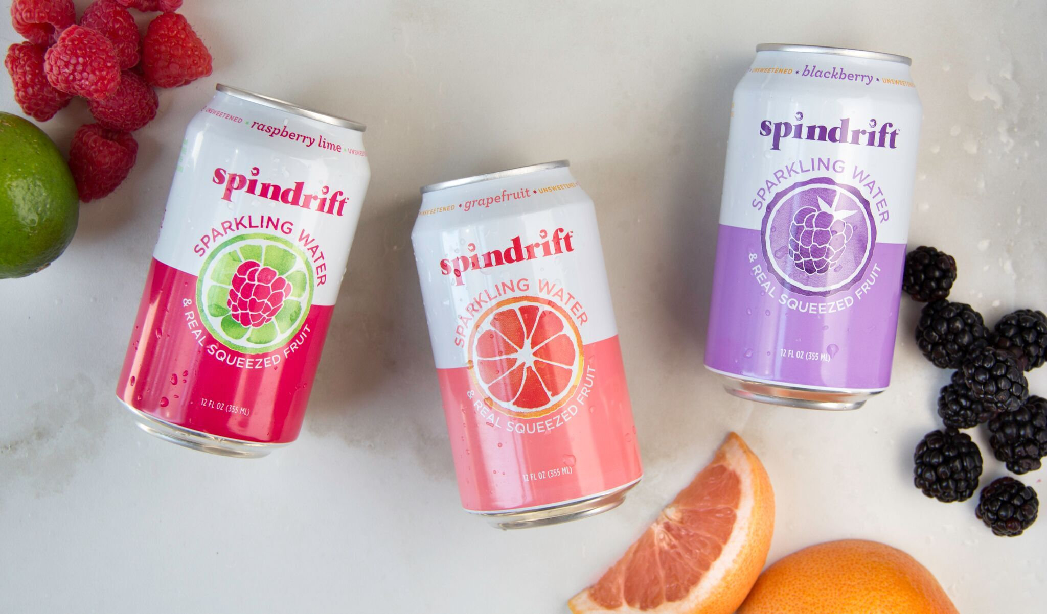 America's First Sparkling Beverage Made With Squeezed Friut