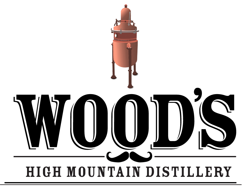 Aluminum Whiskey Bottle By Wood's High Mountain Distillery