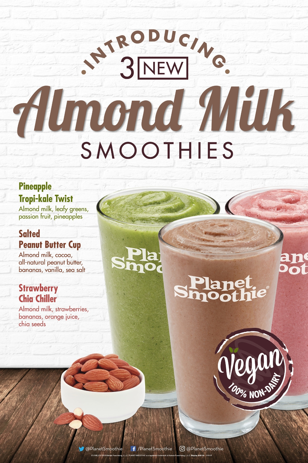 Planet Smoothie Introduces Innovative Non-Dairy Almond Milk