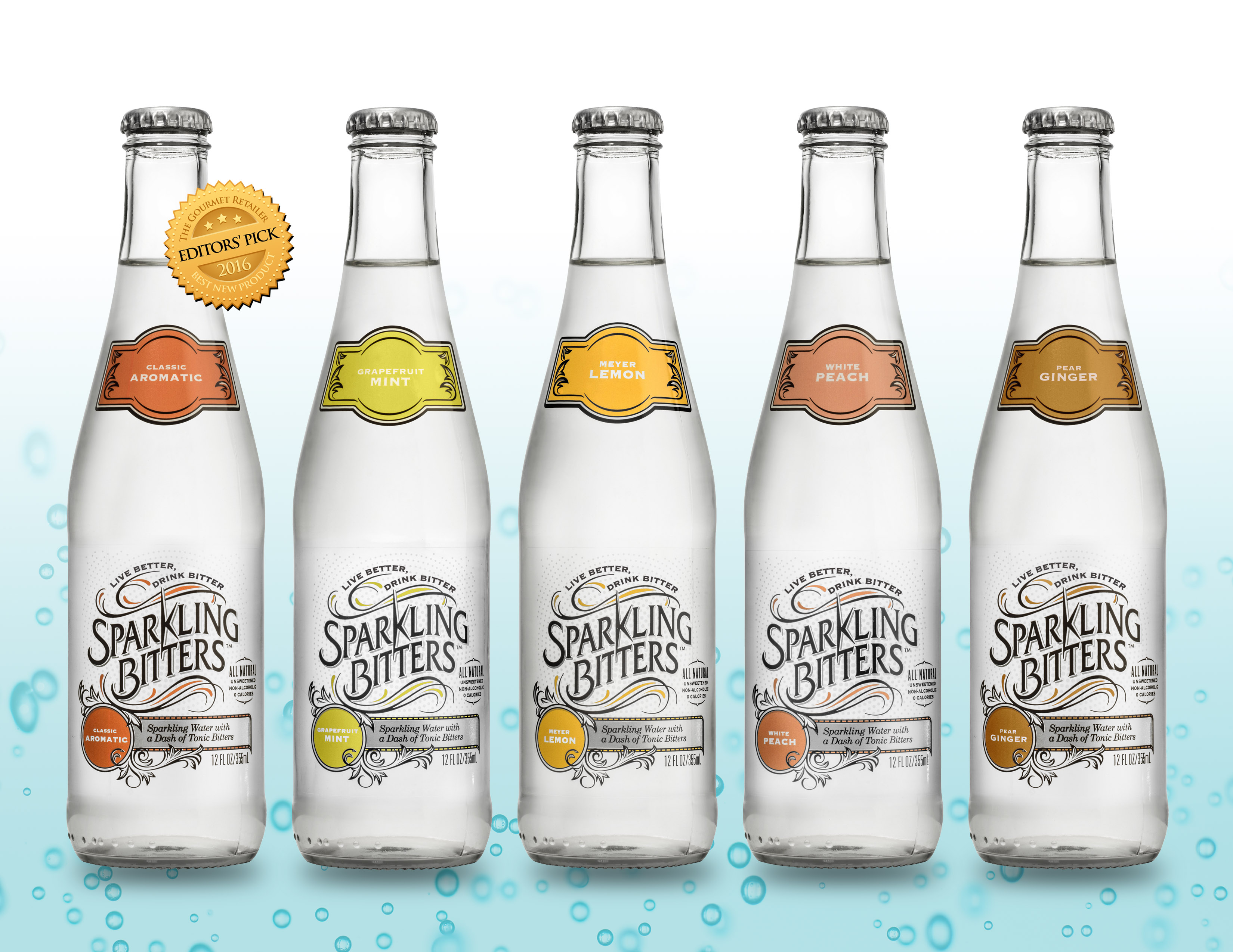 Flavored Carbonated Tonic Water By Sparkling Bitters