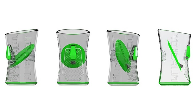 Innovativa Shot Glass Which Eliminates The Burn