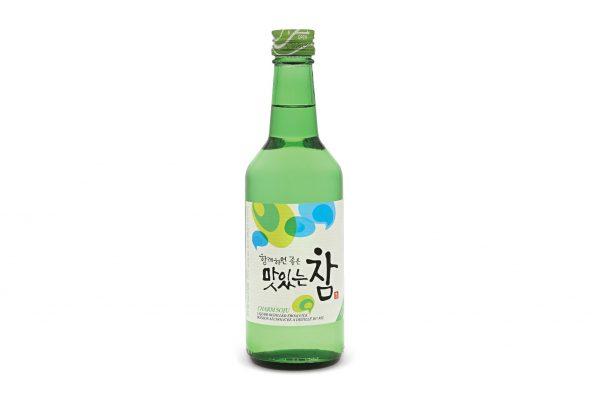Traditional South Korean Alcoholic Drink Charm Soju