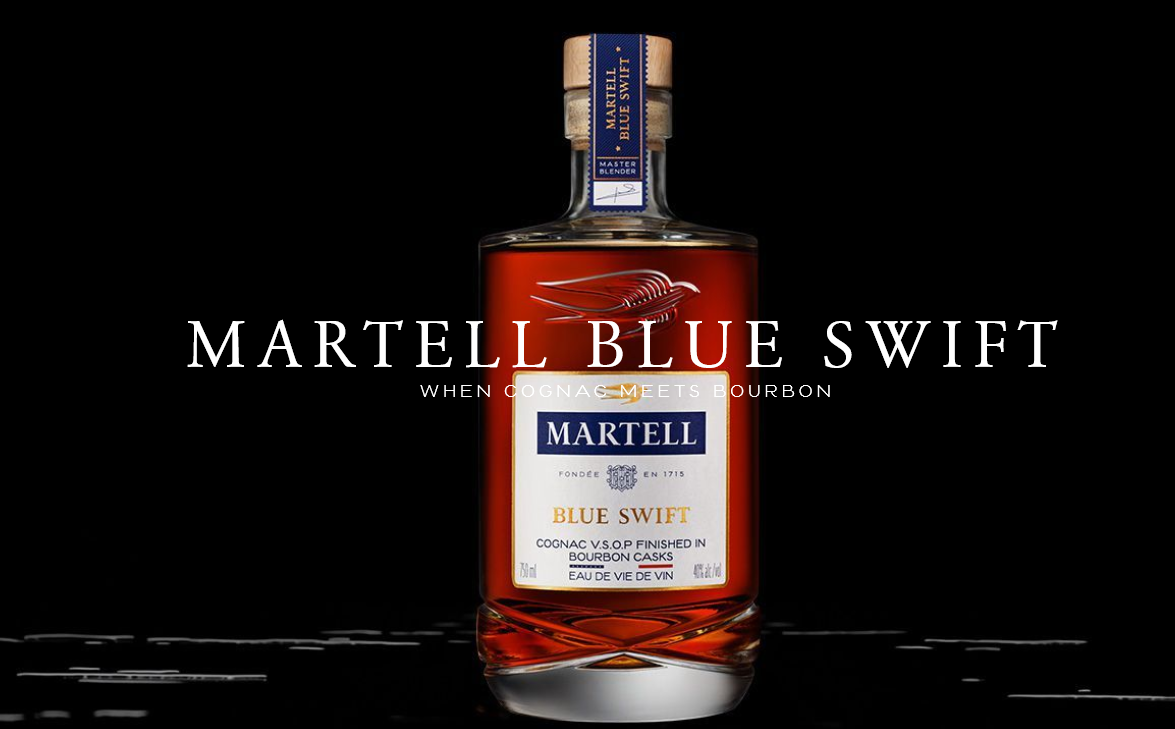 Evoking the Spirit of Curiosity, Martell Unveils Blue Swift
