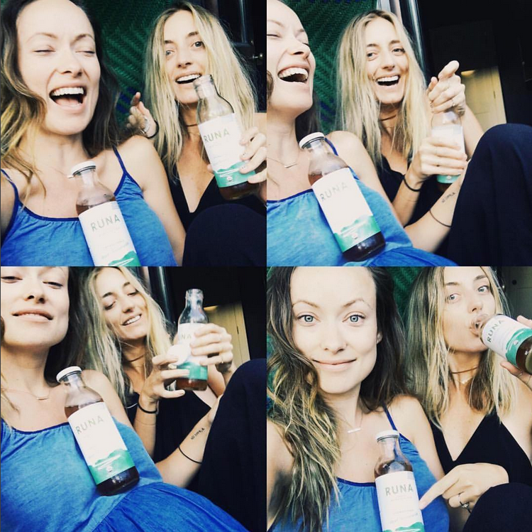 RUNA Partner to Launch New Flavors With Olivia Wilde