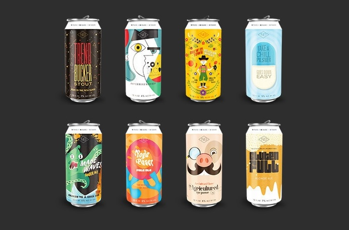 NoCoast Beer Unveils Creative Beer Packaging Product Lineup