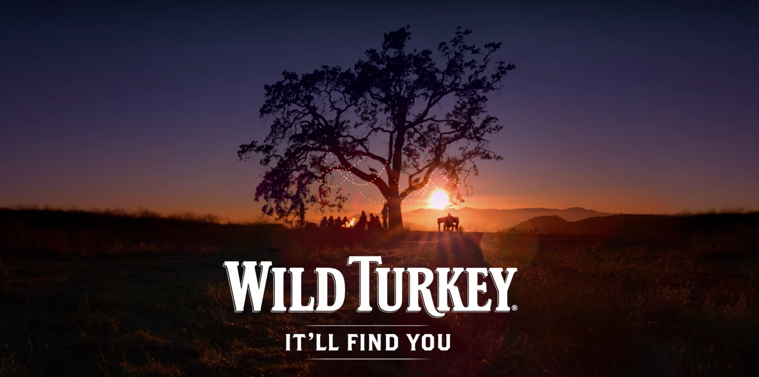 "Wild Turkey Launches ""It'll Find You"" Campaign"