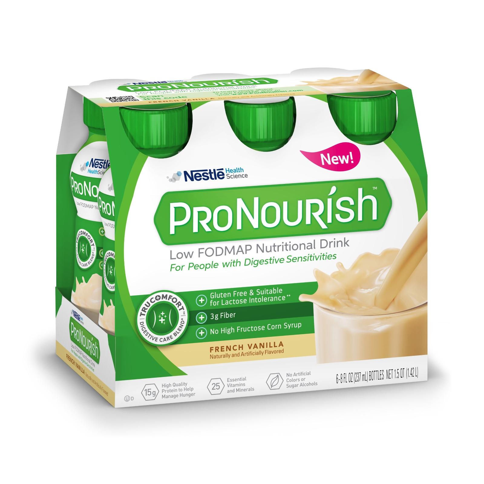Nestlé Unveils ProNourish Low FODMAP Nutritional Drink