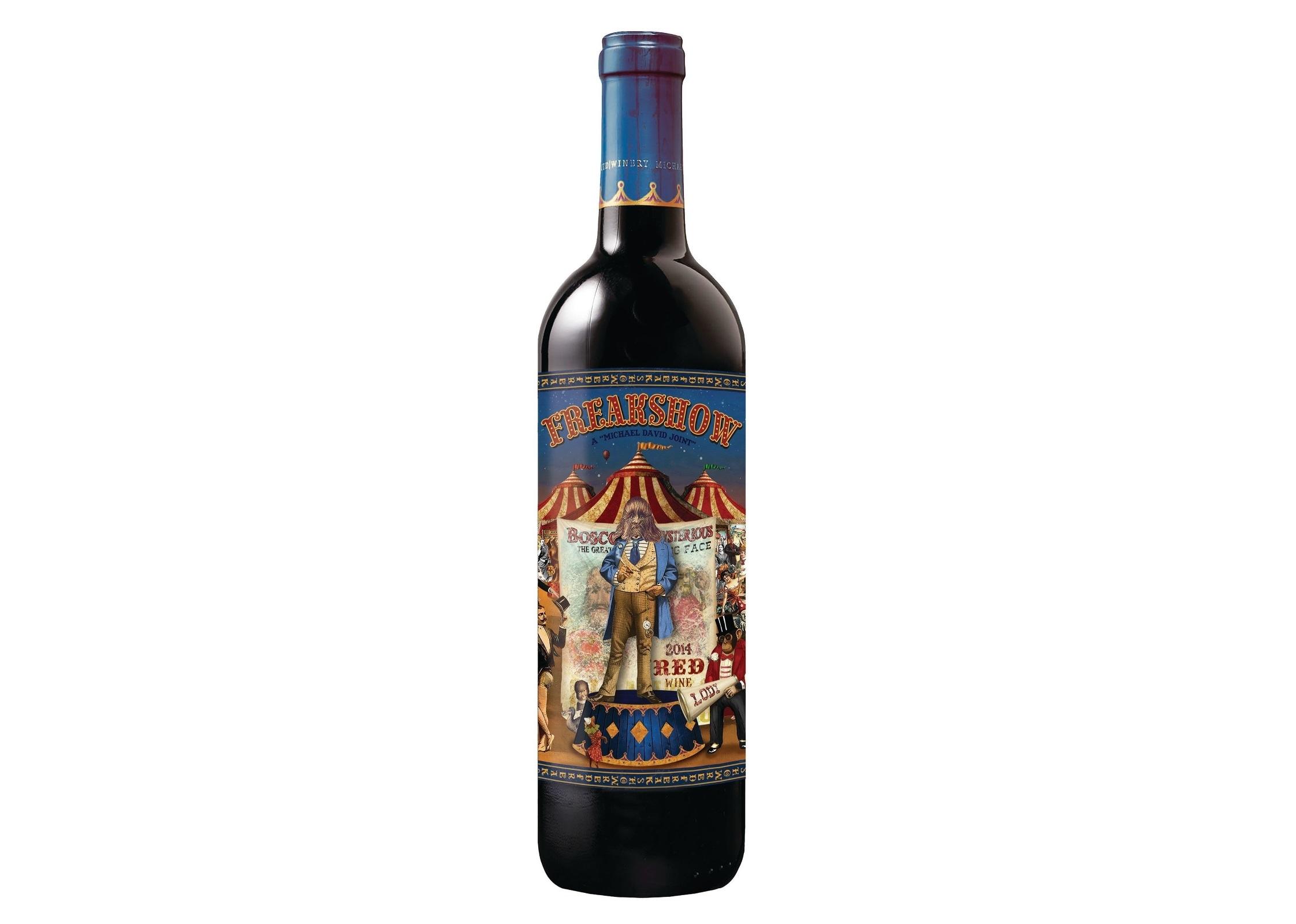 2014 Freakshow Red Wine is Set to Enter U.S. Market
