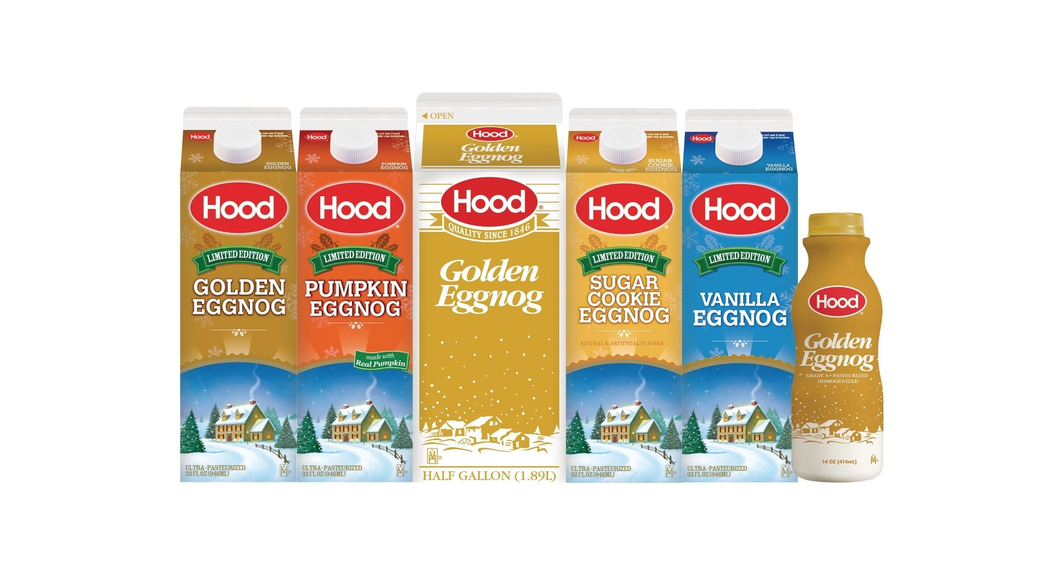 Hood Announces The Return Of Eggnog With New Flavor Lineup
