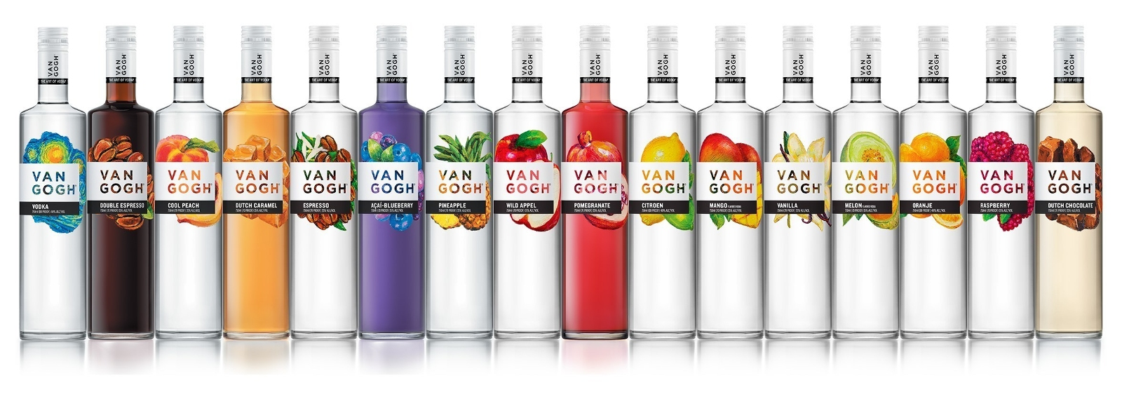 Van Gogh Vodka Introduces Bold New Packaging