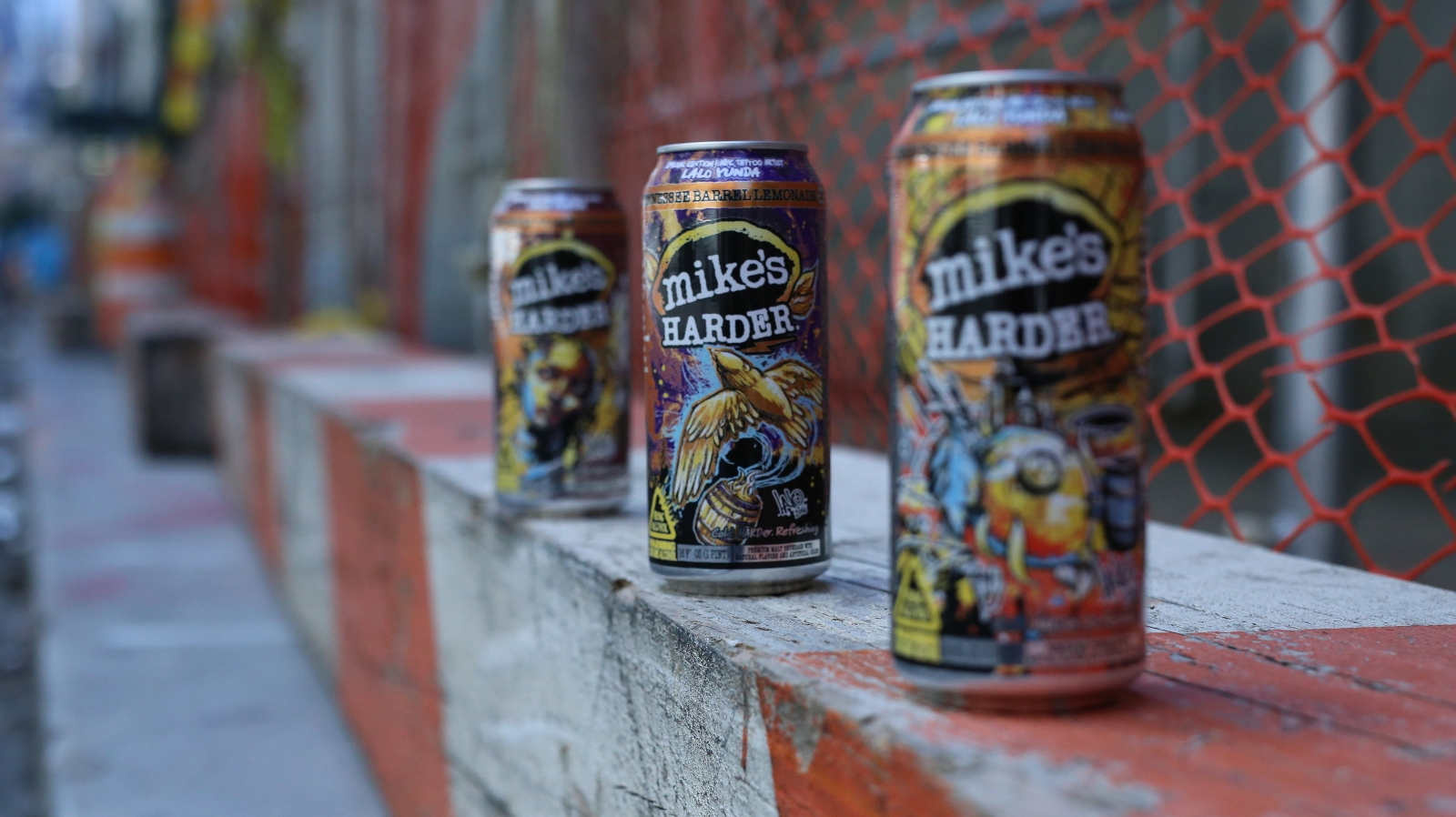 mike's HARDER Introduces Ink-Inspired Collectible Cans