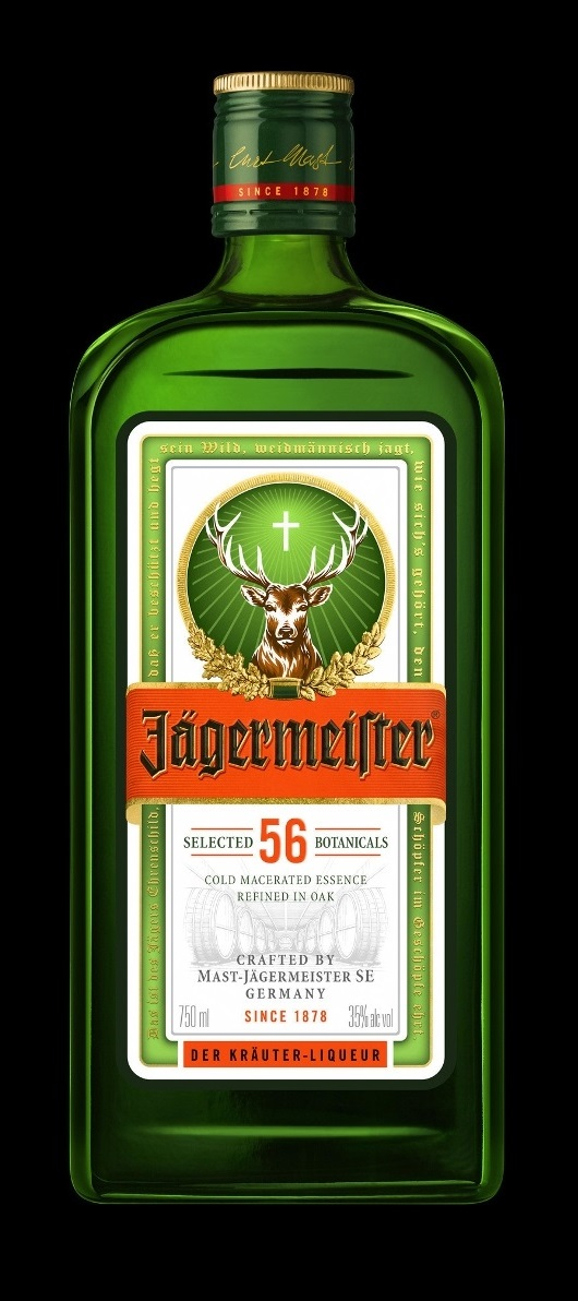 Jägermeister Introduces New Bottle Design With Bolder Logo
