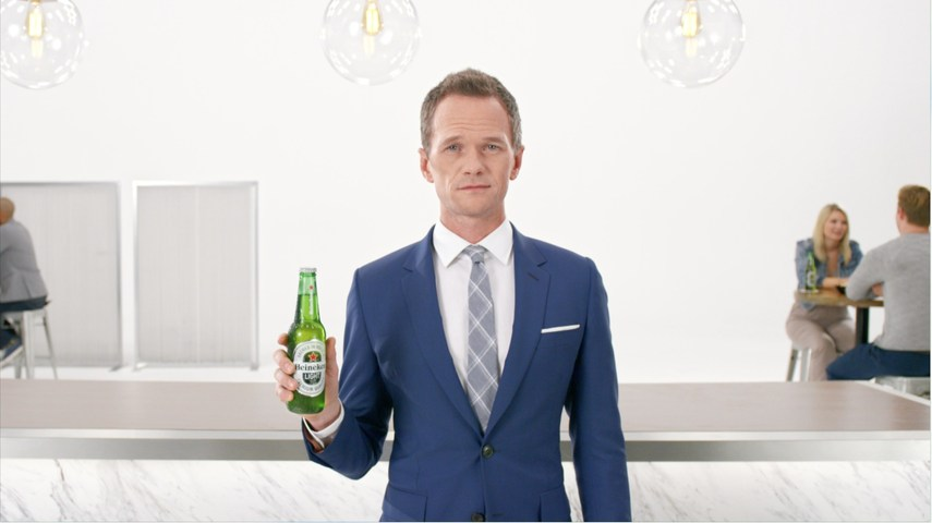 Neil Patrick Harris in First Heineken Light Commercial of 2017