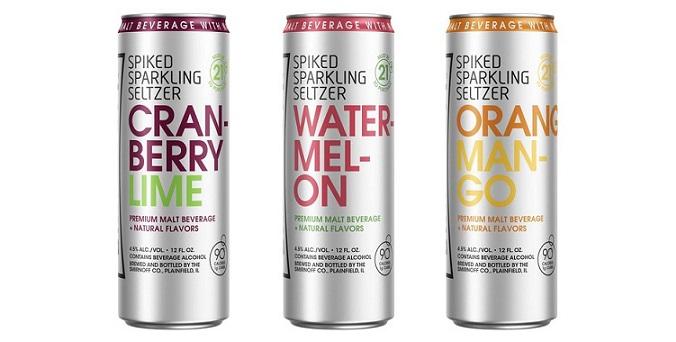 Smirnoff Releases New Hard Seltzer With Zero Sugar