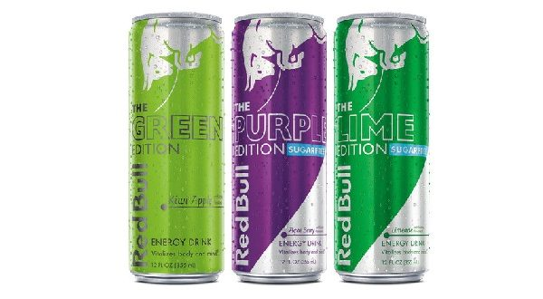 Red Bull Releases New Sugarfree Editions