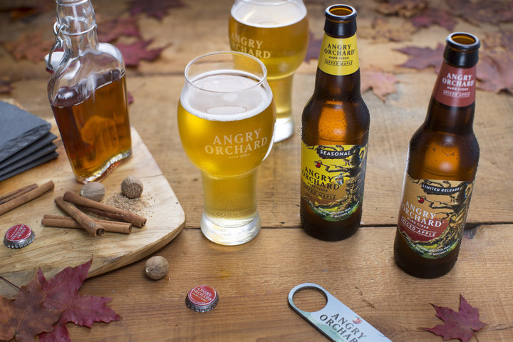Angry Orchard Releases Tapped Maple Flavour