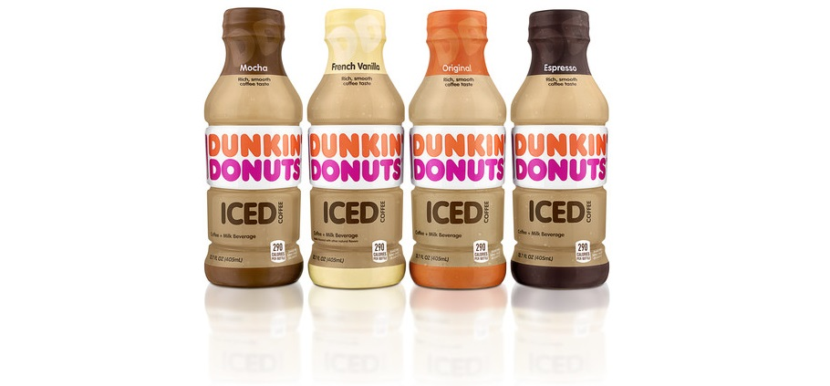 New Dunkin' Donuts Bottled Iced Coffee