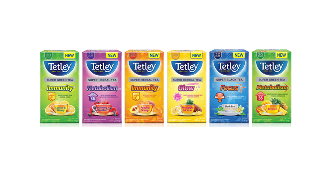 Tetley Super Teas - Beverage Product of the Year