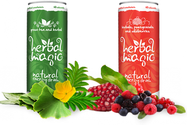 Herbal Magic – Natural Energy Drink