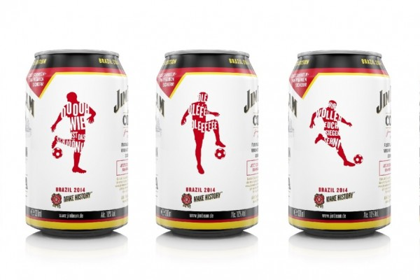 Jim Beam selects Rexam Editions™ for limited edition World Cup cans