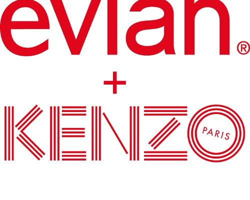 evian® and French Fashion House KENZO Partner To Release 2015 Limited Edition Bottle