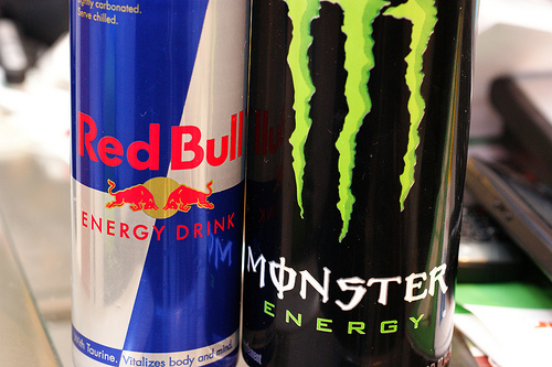 Monster vs RedBull in Spain
