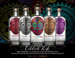 Sugar skull Rum invites You to Live…Love… and celebrate!