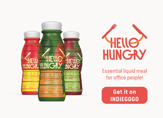 Hello Hungry beverage start-up launched crowdfunding campaign