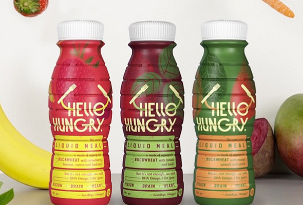 Hello Hungry – essential liquid meal for office people